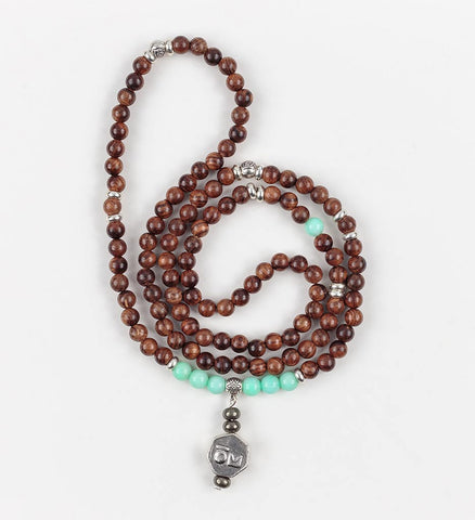 Affinity Stretch Mala in COMPASSION