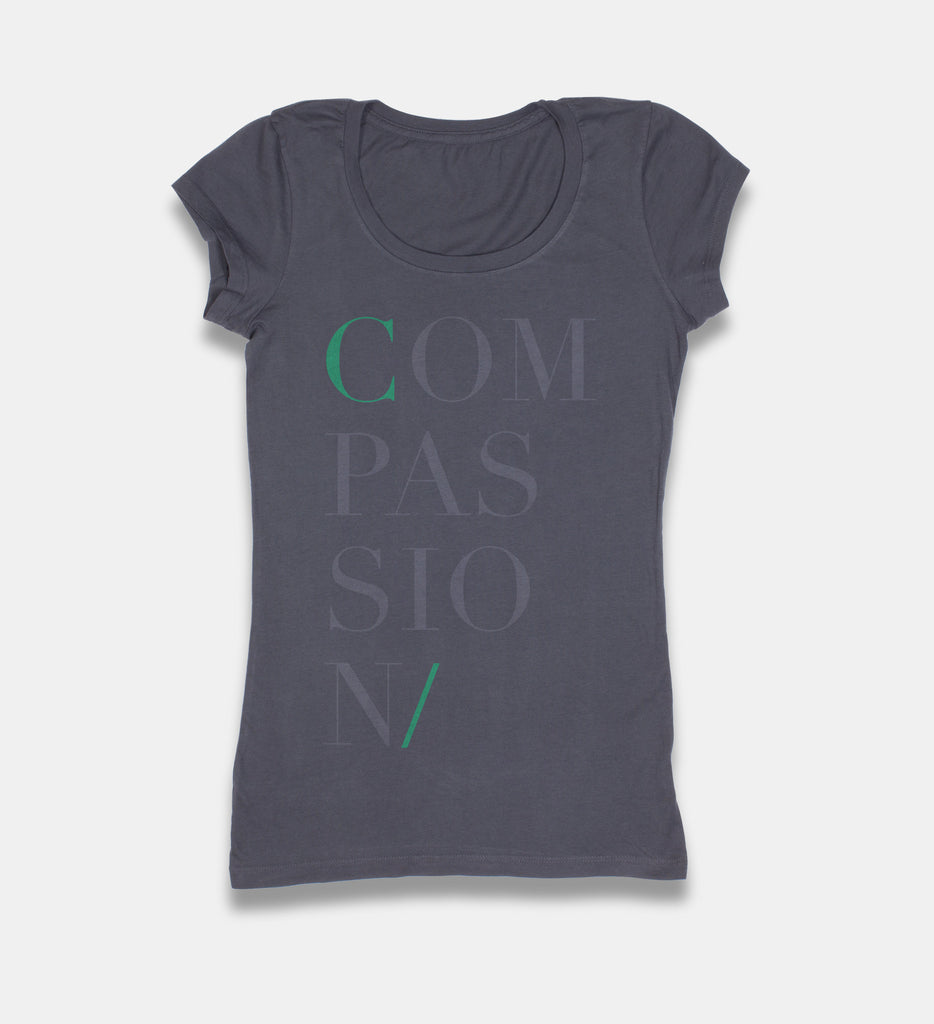 Woman's Subtle Intentions COMPASSION T-Shirt