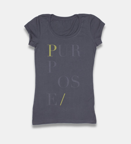 Woman's Subtle Intentions PURPOSE T-Shirt
