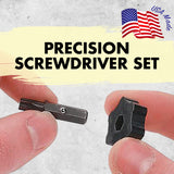 Precision Screwdriver Set - Spinner Top included in this kit is great for tight spaces or starting screws | Chapman MFG