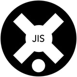NEW! Crosspoint bits for Japanese Indus. Std. (JIS) Screws