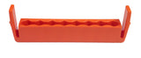 Replacement Rack - Orange bit rack (holds 8 bits) | Chapman MFG