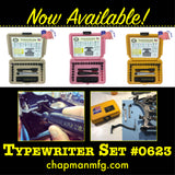 0623 Typewriter Set | Chapman MFG