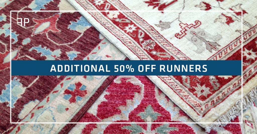 Additional 50% off select handmade runners