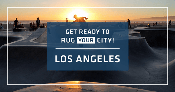 Los Angeles will be the focus of RugYourCity's Second Design Challenge