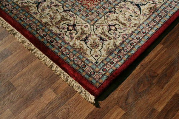 Hand-knotted traditional rugs are the gold standard of handmade rugs