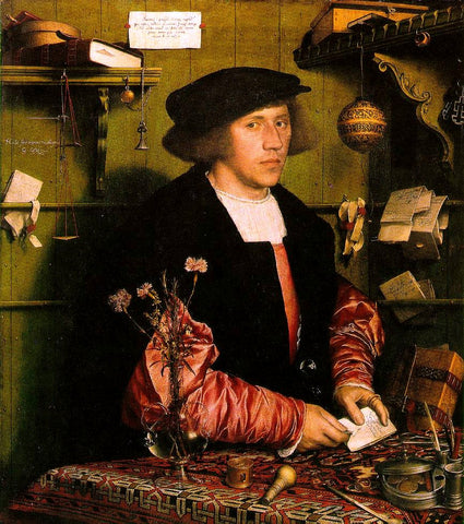 European artists like Hans Holbein popularized rugs in Europe through art