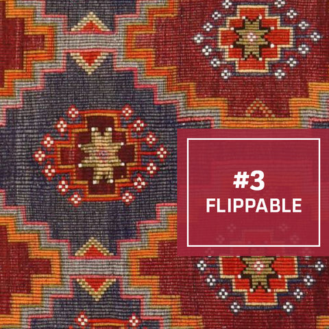 3/5 Ways Kilims Are the Perfect Kitchen Rug: Flippable