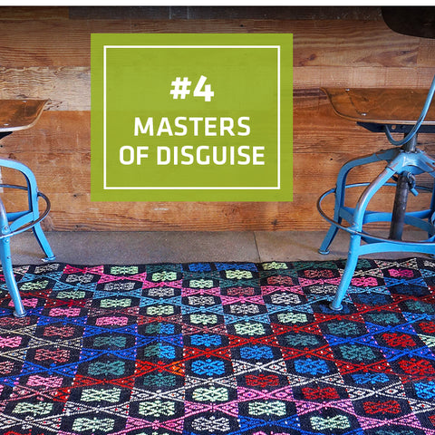 4/5 Ways Kilims Are the Perfect Kitchen Rug: Masters of Disguise