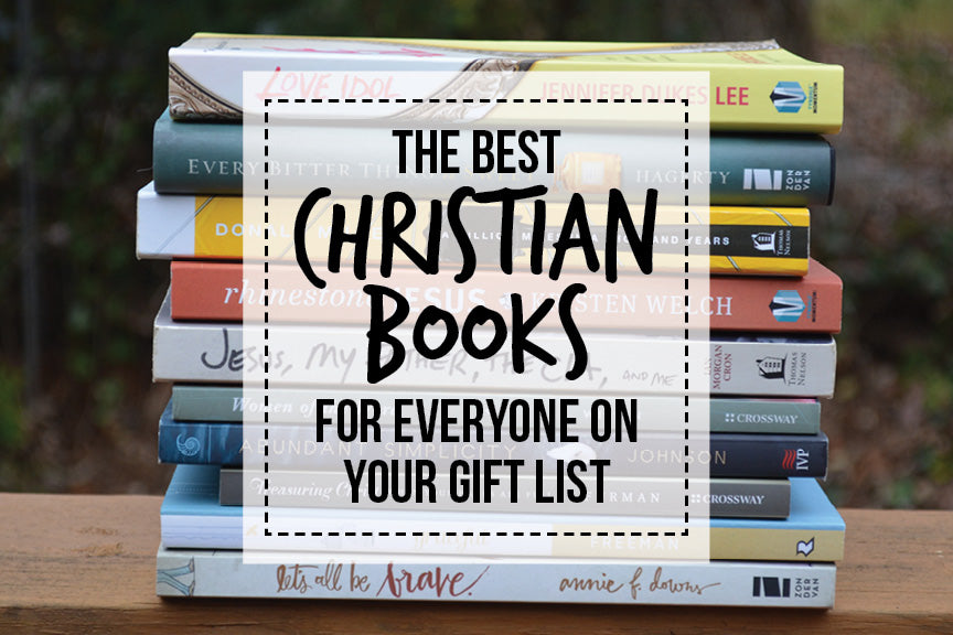Christmas Book List - Great Christian Reads | Glowing Local