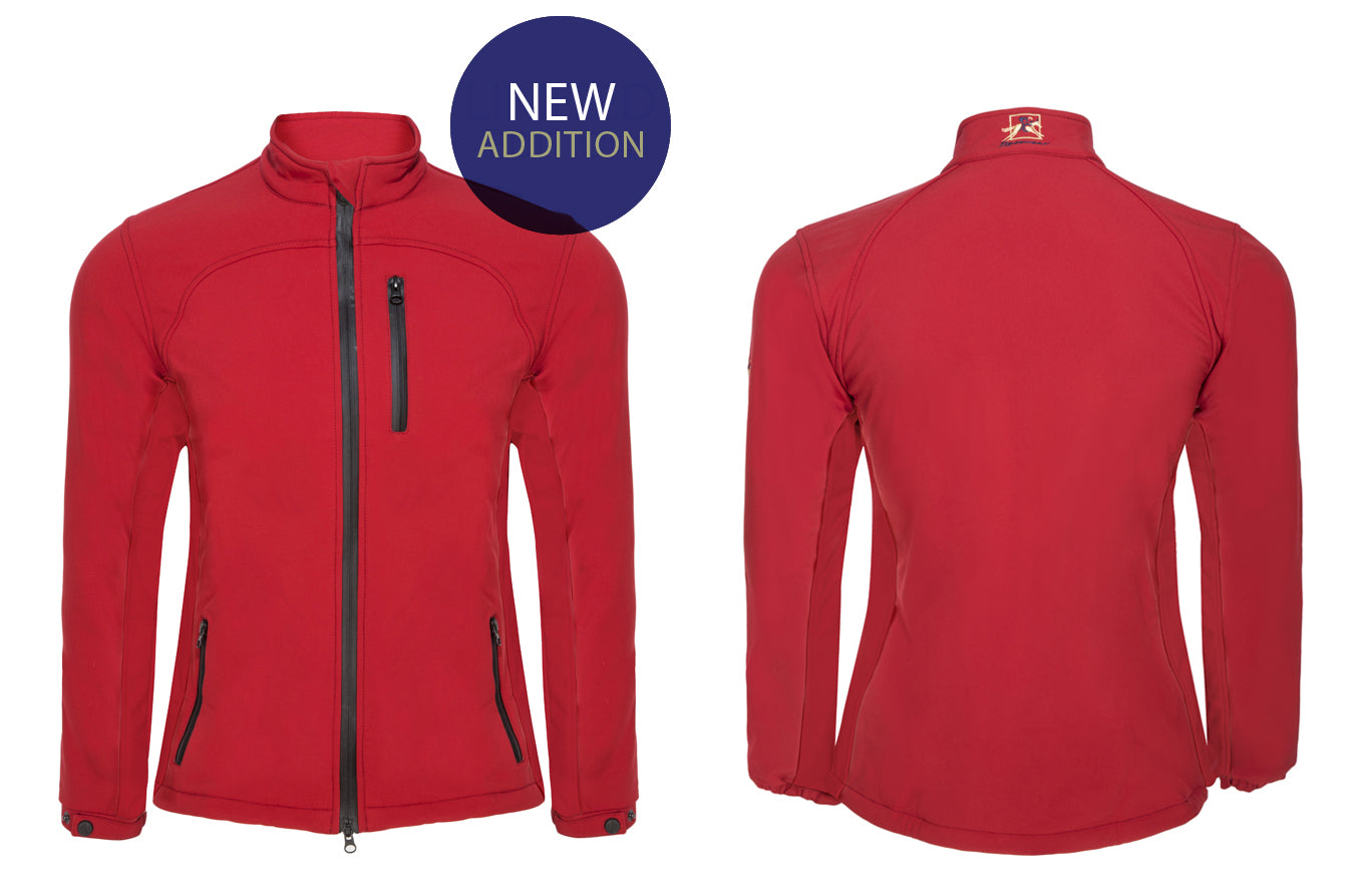 New Arrivals! - Paul Carberry PC Racewear PC Softshell Jacket in Red