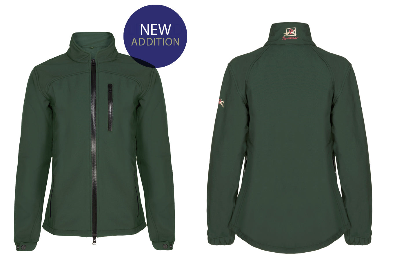 New Arrivals! - Paul Carberry PC Racewear PC Softshell Jacket in Racing Green