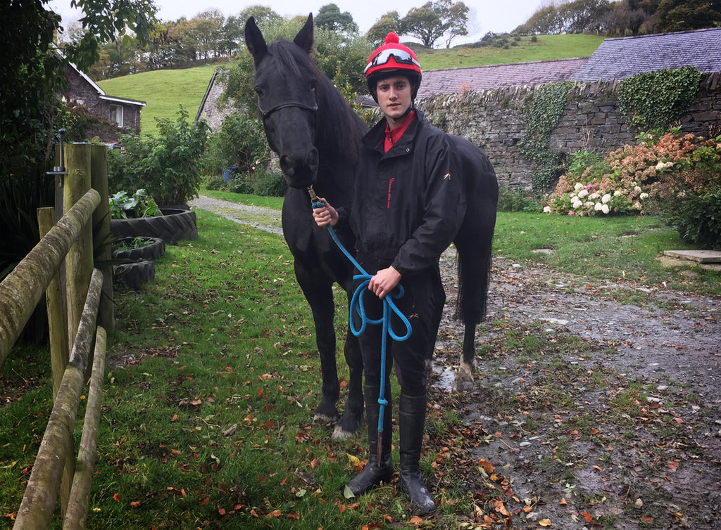 PC Racewear Interview with horse riding  jockey Jack Goodchild getting place in The British Racing School