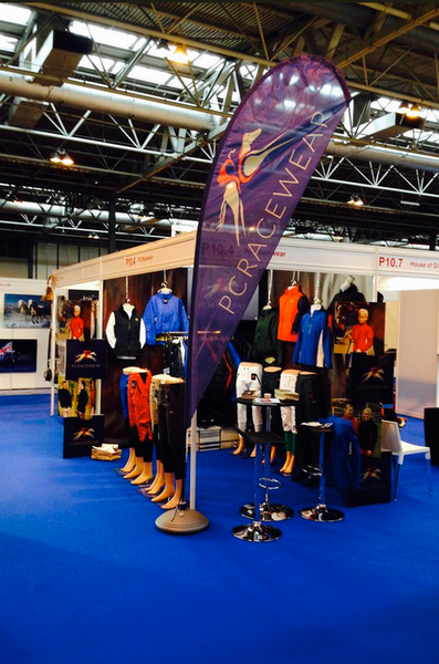 PC Racewear Paul Carberry Racewear at BETA International 2015 Stand P-10-4