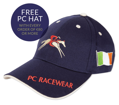 Paul Carberry PC Racewear Special Offer - FREE PC Cap on all orders over €80