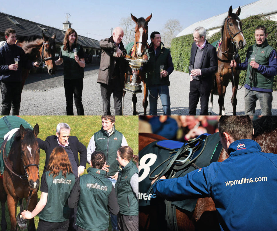 Paul Carberry PC Racewear Blog - Good luck to WP Mullins at Leopardstown Racing Christmas Festival 2015
