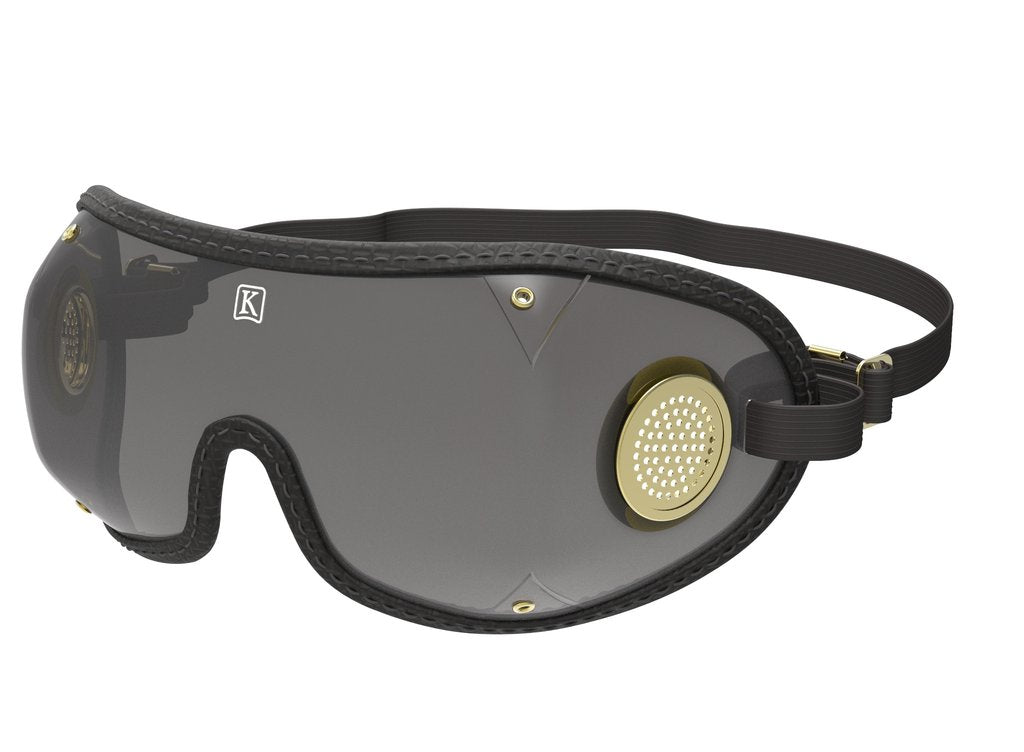Kroop's Original Racing Goggle - Black