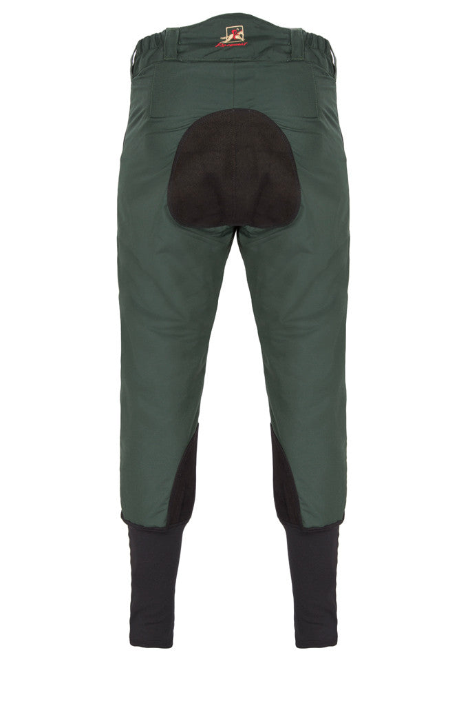 Paul Carberry - PC Racewear - PC Breeches Green (back view)