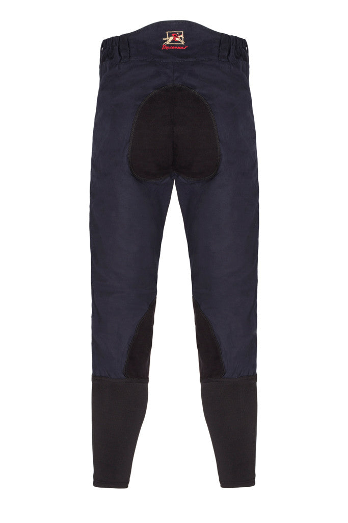 Paul Carberry - PC Racewear - PC Breeches Navy (back view)