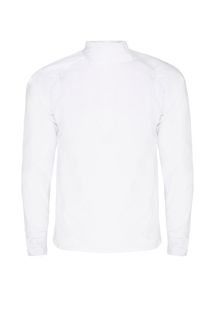 Paul Carberry - PC Racewear - PC Fleece Horse Riding Top - White