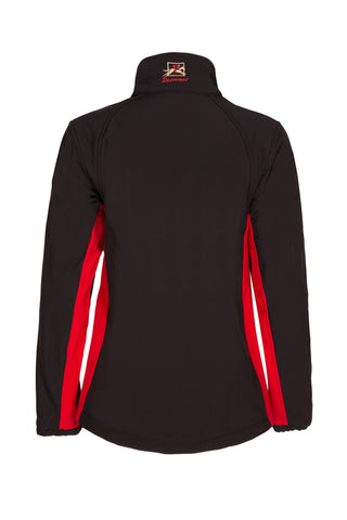 Paul Carberry PC Racewear  - PC Softshell Jacket Black/Red
