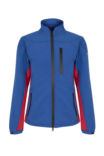 Paul Carberry PC Racewear  - PC Softshell Jacket Royal Blue/Red