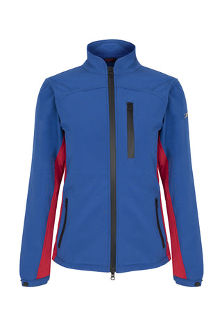 PC Softshell Jacket - Royal Blue / Red