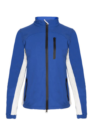 PC Softshell Jacket - Royal Blue/White