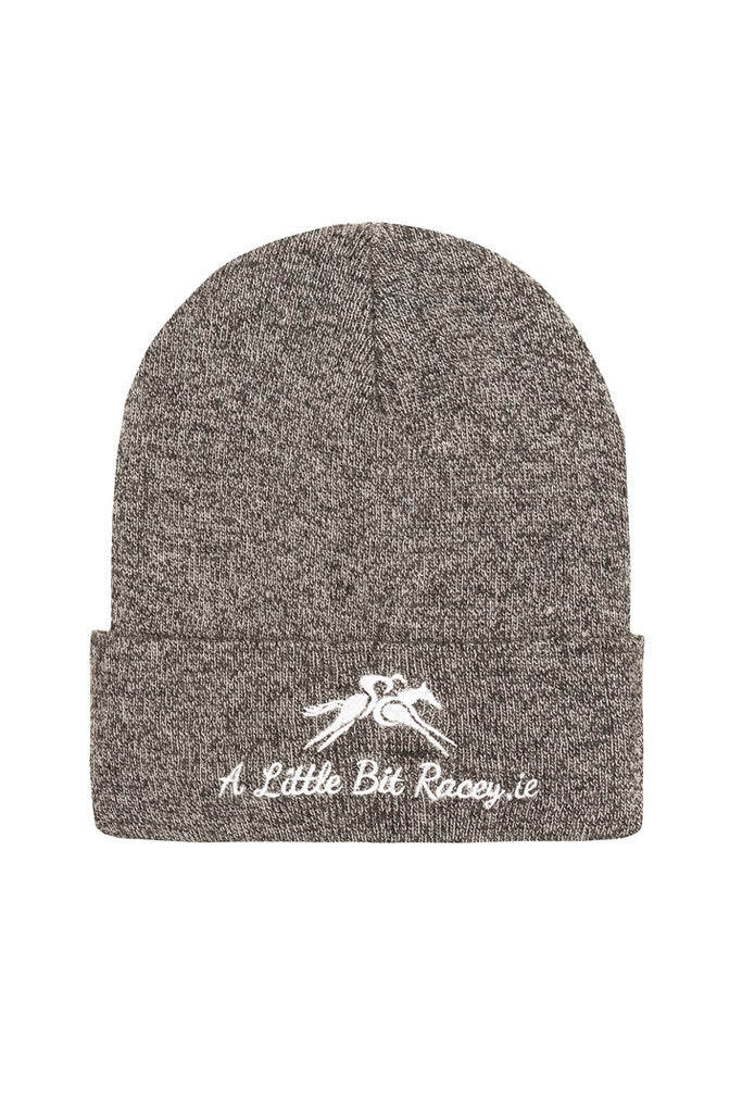 Paul Carberry PC Racewear - A Little Bit Racey Beanie Hat in Grey