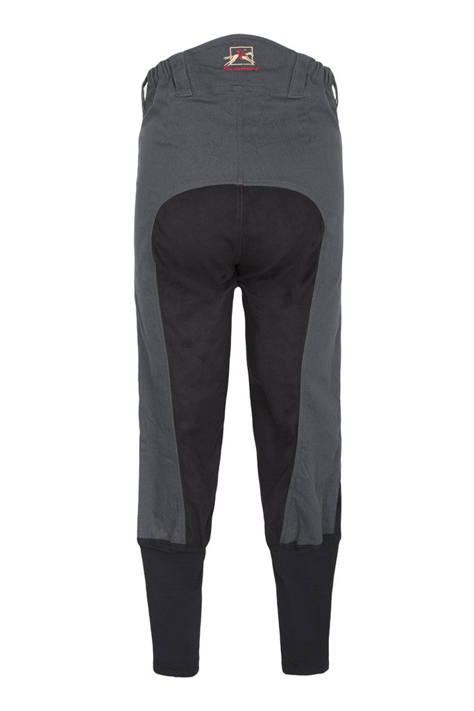 Paul Carberry PC Racewear - A Little Bit Racey Breeches in Grey Back