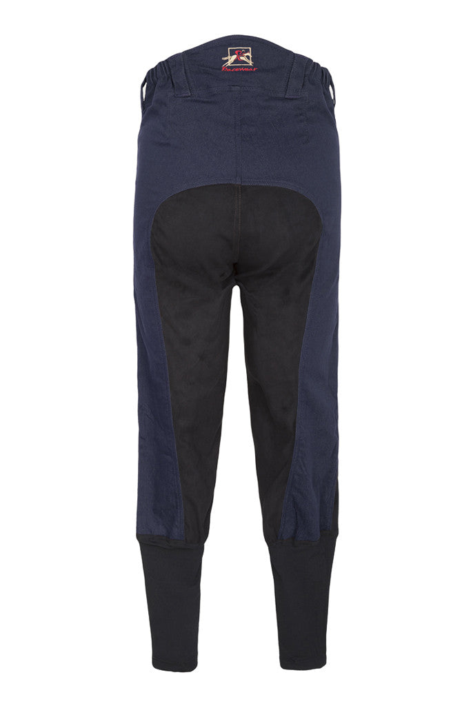 Paul Carberry PC Racewear - A Little Bit Racey Breeches in Navy - Back