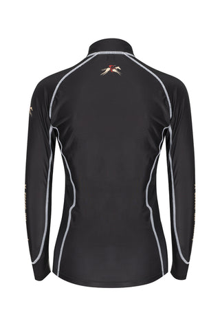 Paul Carberry PC Racewear A Little Bit Racey Sprint - Lycra Top - Black