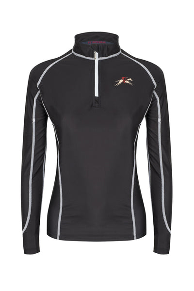 A Little Bit Racey Sprint - Lycra Top - Black - PC Racewear