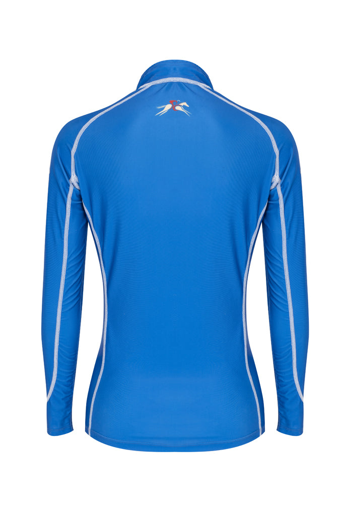 A Little Bit Racey Sprint - Lycra Top - Royal Blue Back - PC Racewear