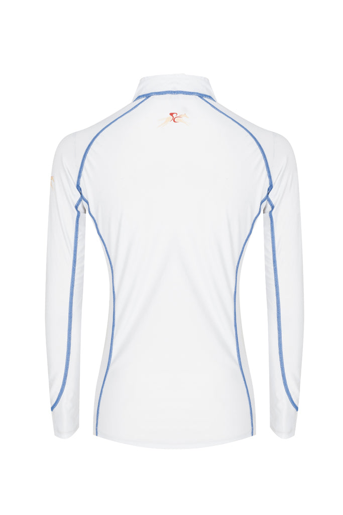 Paul Carberry PC Racewear A Little Bit Racey Sprint - Lycra Top - White Back