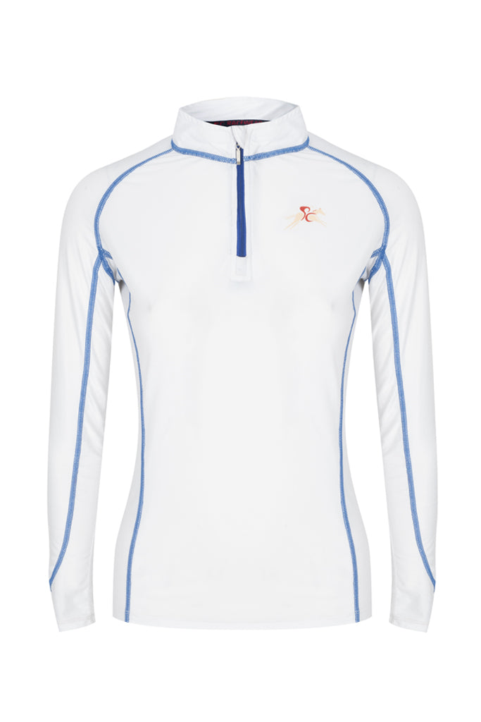 Paul Carberry PC Racewear A Little Bit Racey Sprint - Lycra Top - White
