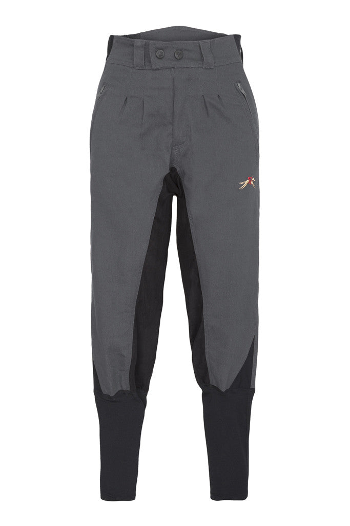 A Little Bit Racey Breeches - Childrens - Grey