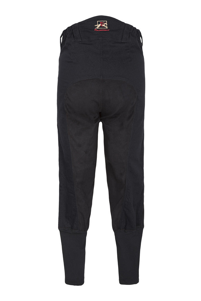 Paul Carberry PC Racewear - Duvall 150 Breeches in Black - Back view