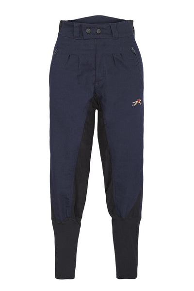 A Little Bit Racey Breeches - Childrens - Navy
