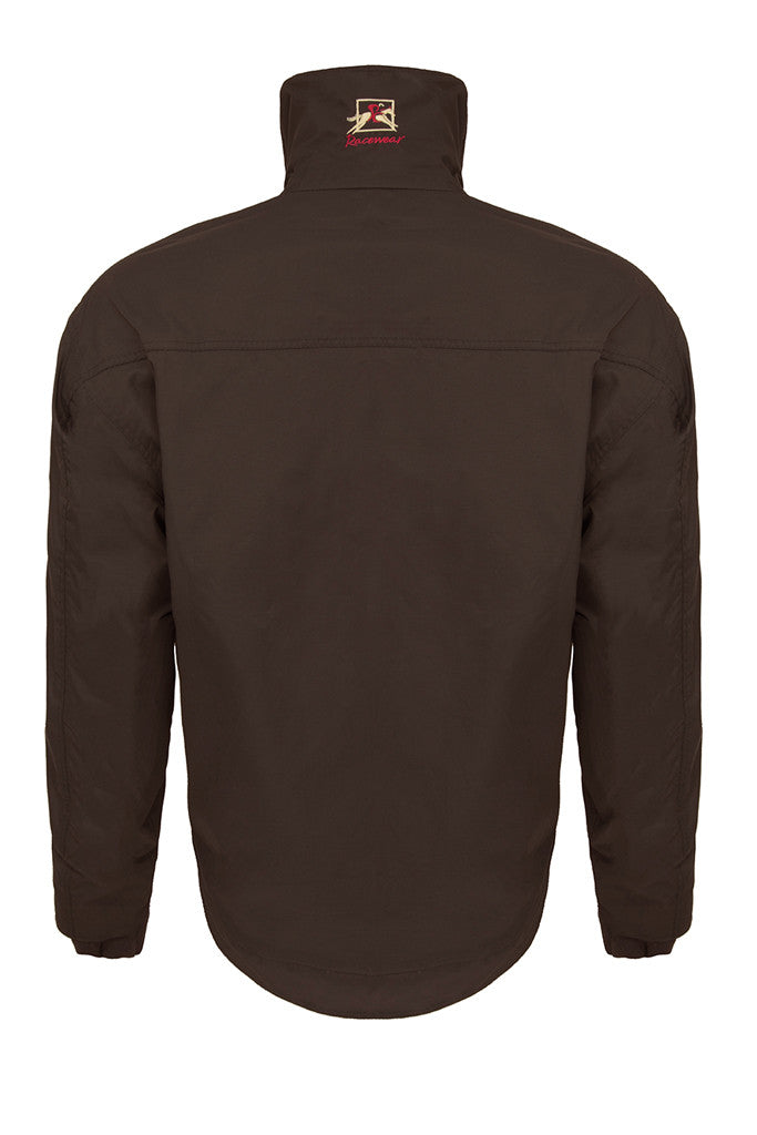 Paul Carberry - PC Racewear - PC Elite Jacket in Chocolate Brown - Back