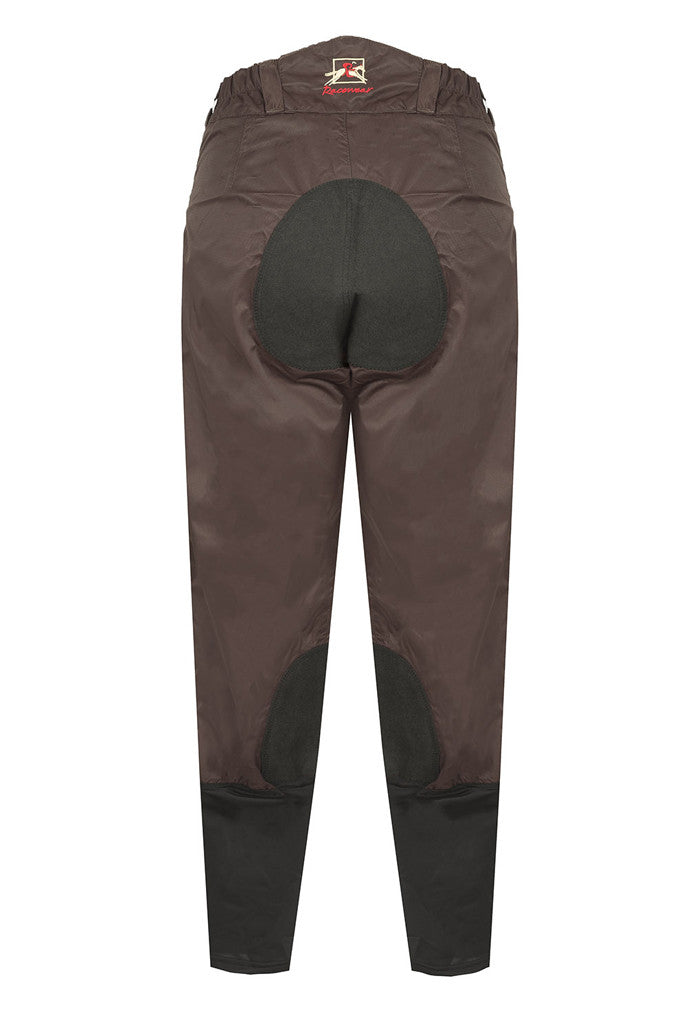 Paul Carberry - PC Racewear - PC Breeches Chocolate Brown / Black - Back