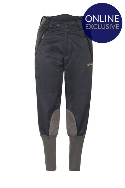 PC Breeches Weatherproof - Navy/Grey - Childrens - Online Exclusive