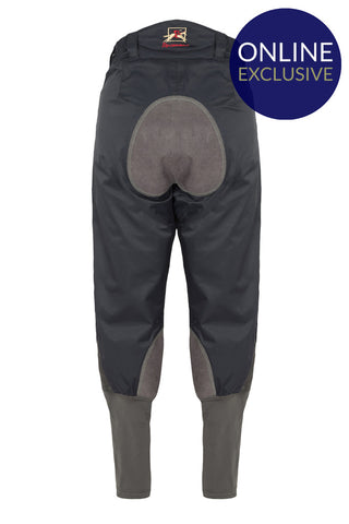 Paul Carberry PC Water Resistant Horse Riding Breeches Navy / Grey Front