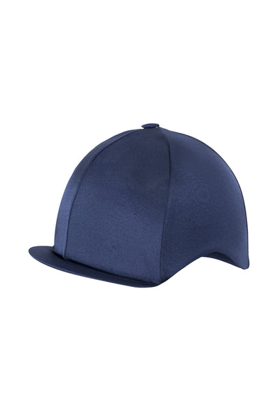 Paul Carberry PC Racewear Horse Riding Hat Cover Silk -  Navy Front