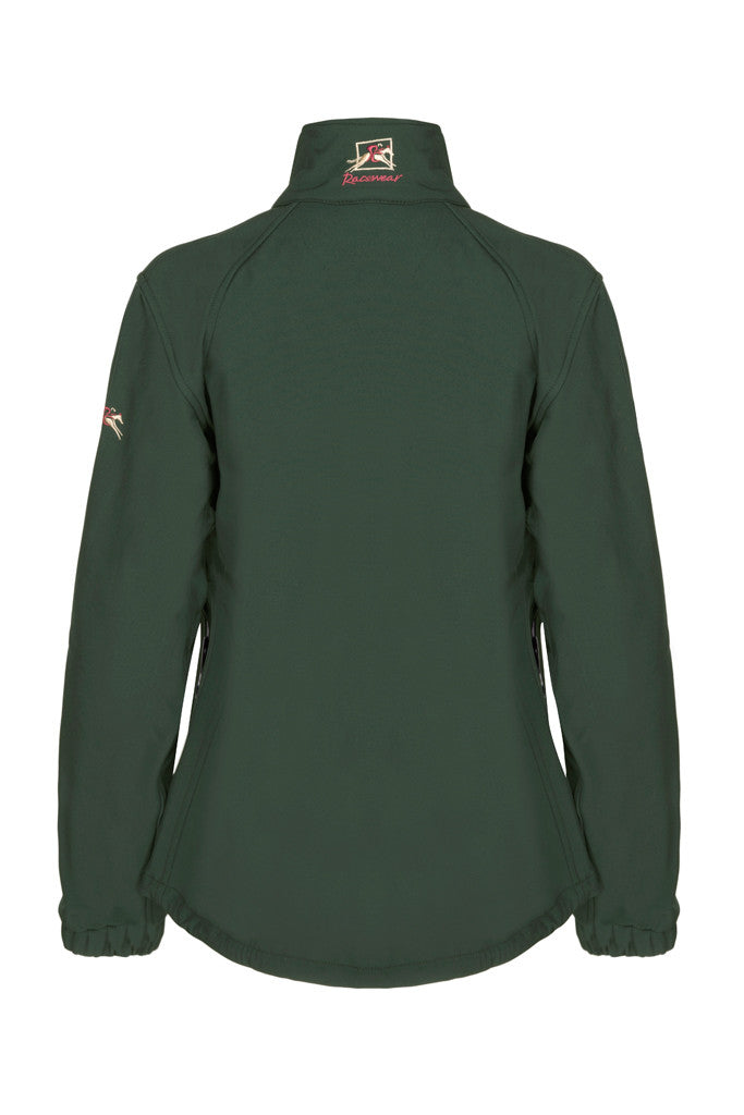 Paul Carberry PC Racewear - Racing Green PC Softshell Jacket - Back