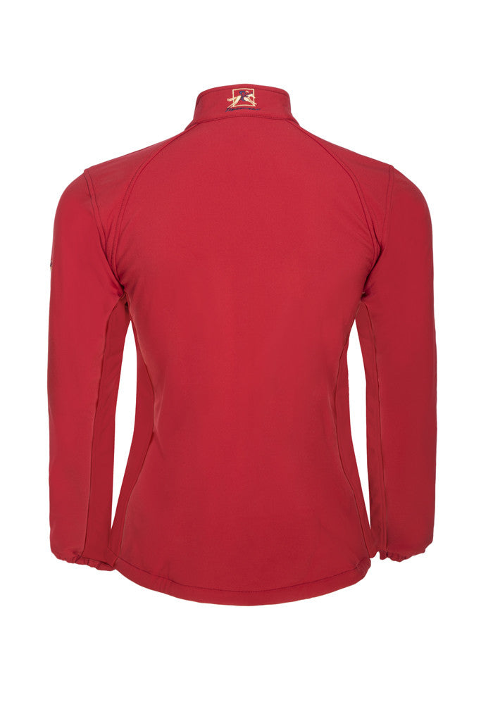 Paul Carberry PC Racewear - Red PC Softshell Jacket - Back