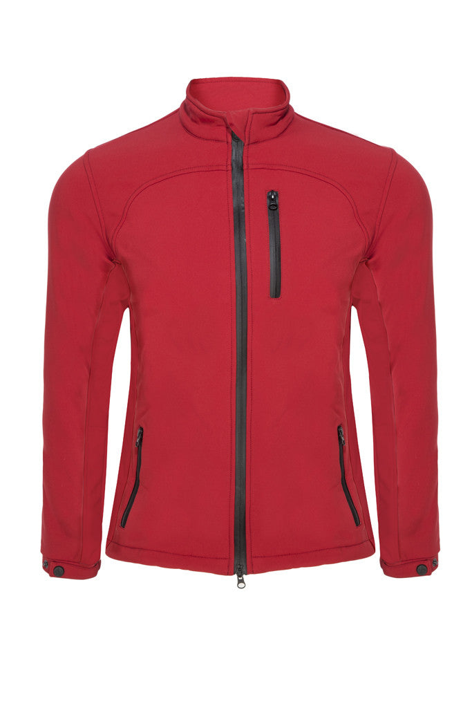 Paul Carberry PC Racewear - Red PC Softshell Jacket