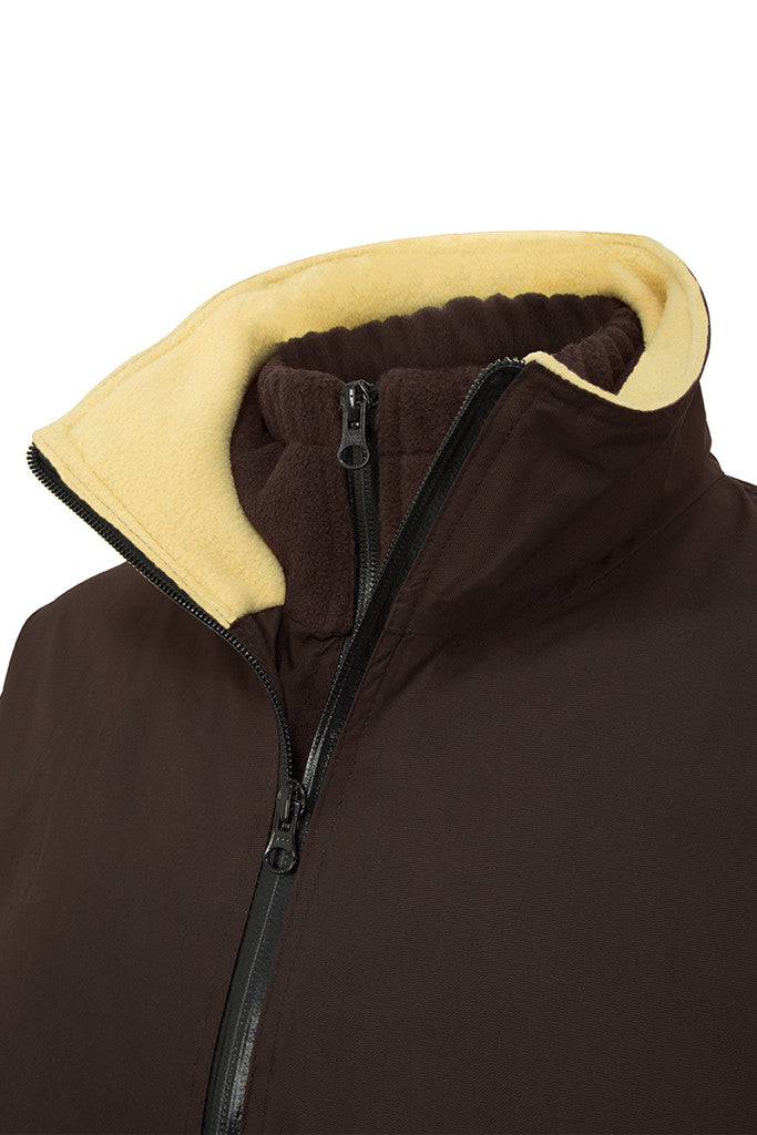 Paul Carberry - PC Racewear - PC Elite Jacket in Chocolate Brown - Detail