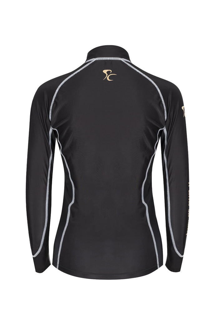 PC Racewear Sprint- Lycra Top - Black