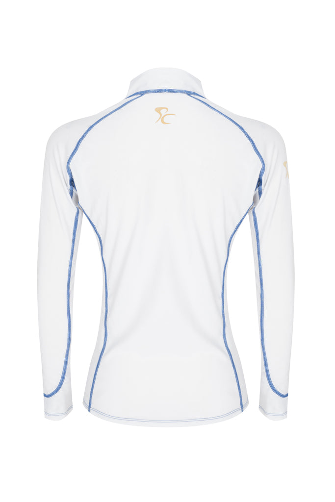 Paul Carberry PC Racewear Sprint - Lycra Top - White Back